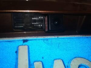 установка камеры заднего вида на Lada X-ray 2