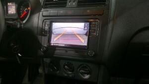 установка камеры заднего вида на Volkswagen Polo 2