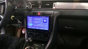 установка магнитолы Audi A6 2