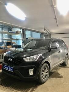 установка сигнализации Hyundai Creta 1