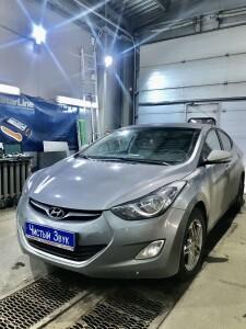 установка сигнализации на Hyundai Elantra 2