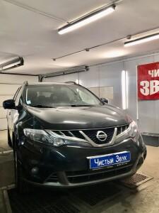 установка сигнализации на Nissan Murano 1