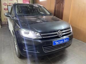 установка видеорегистратора Volkswagen Taureg 1