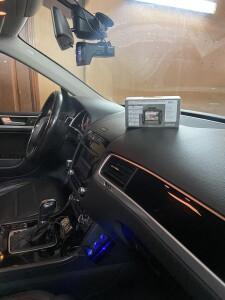 установка видеорегистратора Volkswagen Taureg 2