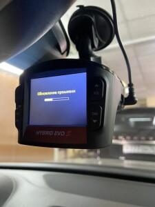 установка видеорегистратора Volkswagen Taureg 4