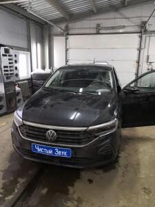 установка замка на кпп Volkswagen Polo 1
