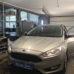 Ford Focus установка сигнализации  1
