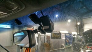 Honda CR-V установка головного устройства и видеорегистратора 2