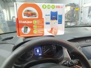 Hyundai Creta установка сигнализации 2