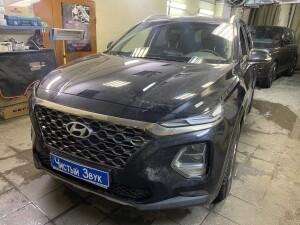 Hyundai SantaFe тонировка 1