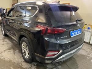 Hyundai SantaFe тонировка 4