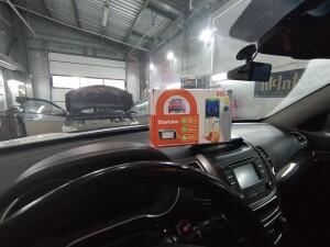 Kia Sorento установка автозапуска и видеорегистратора 2