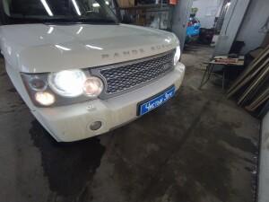 Land Rover замена ламп 1