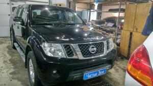 Nissan Navara установка сигнализации 1