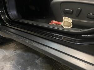 Nissan X-Trail бронирование+сетка в бампер 6