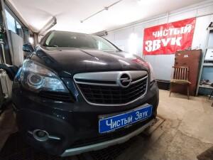 Opel Mokka становка сигнализации с запуском 1
