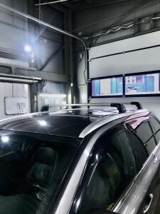Toyota Highlander установка багажника THULE 3