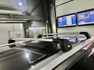 Toyota Highlander установка багажника THULE 4