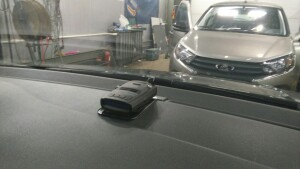 VW POLO уст радар,регистратор 3