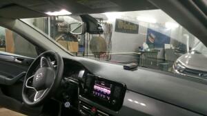VW POLO уст радар,регистратор 4