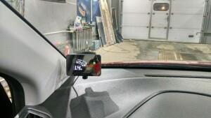 установка сигнализации и парктроников на Hyundai Solaris 7