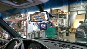 Chevrolet Niva установка видеорегистратора 4