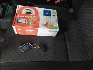 Datsun On-Do установка сигнализации 1