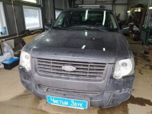 Ford Explorer установка парктроников 1