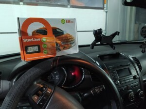 Kia Sportage установка сигнализации 2