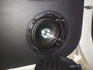 Ларгус установка музыки, сигнализации 4