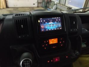 Peugeot Boxer установка музыки 3