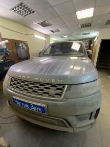 Range Rover установка комбо 1