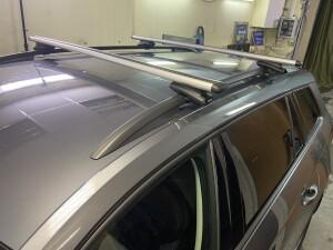 Skoda Kodiaq установка видеорегистратора+багажник на крышу 2