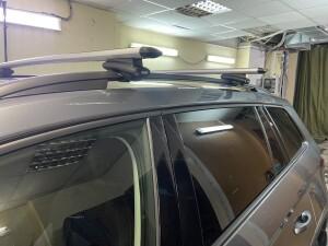 Skoda Kodiaq установка видеорегистратора+багажник на крышу 3