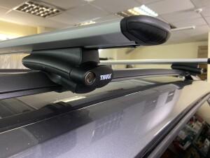 Skoda Kodiaq установка видеорегистратора+багажник на крышу 5