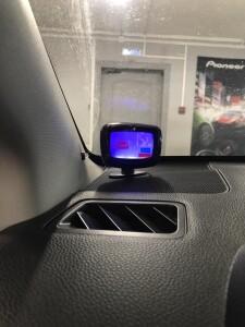 Subaru XV установка парктроников 6