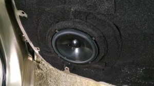 Toyota Camry установка музыки 6