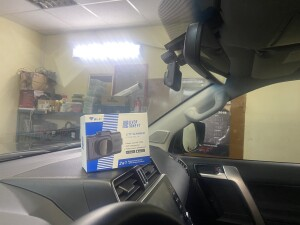 Toyota LC 150 Prado установка комбо-устройства 3