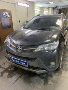 Toyota Rav-4 установка зкпп 1