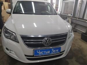 Volkswagen Tiguan установка фаркопа 1