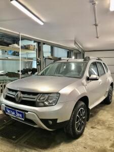 Renault duster автозапуск 1
