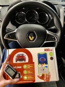 Renault duster автозапуск 2